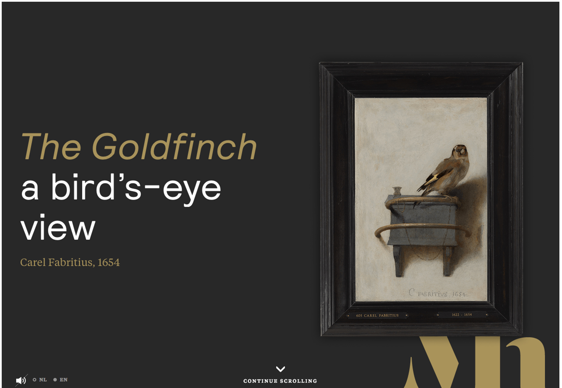 goldfinch - novepuntouno blog